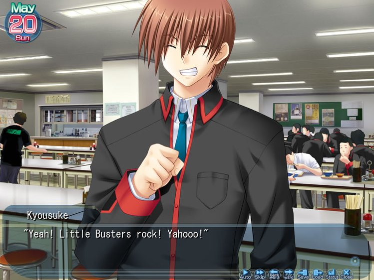 Little Busters Rock