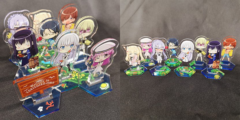 Summer Pockets Acrylic Stands