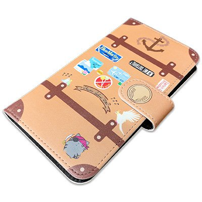 kamome luggage phone case